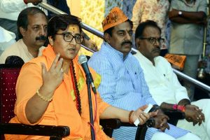 EC notice to BJP's Pragya Thakur, seeks explanation within 24 hrs over remarks on Hemant Karkare