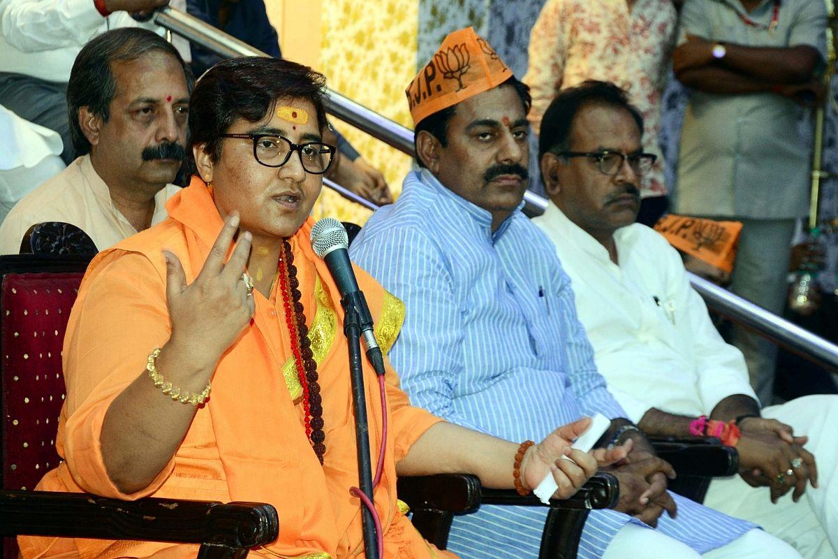 NDA, Pragya, BJP, Sadhvi Pragya Singh Thakur, Lok Sabha elections, Ramdas Athawale, Hemant Karkare, Pragya Singh Thakur, Pragya Singh