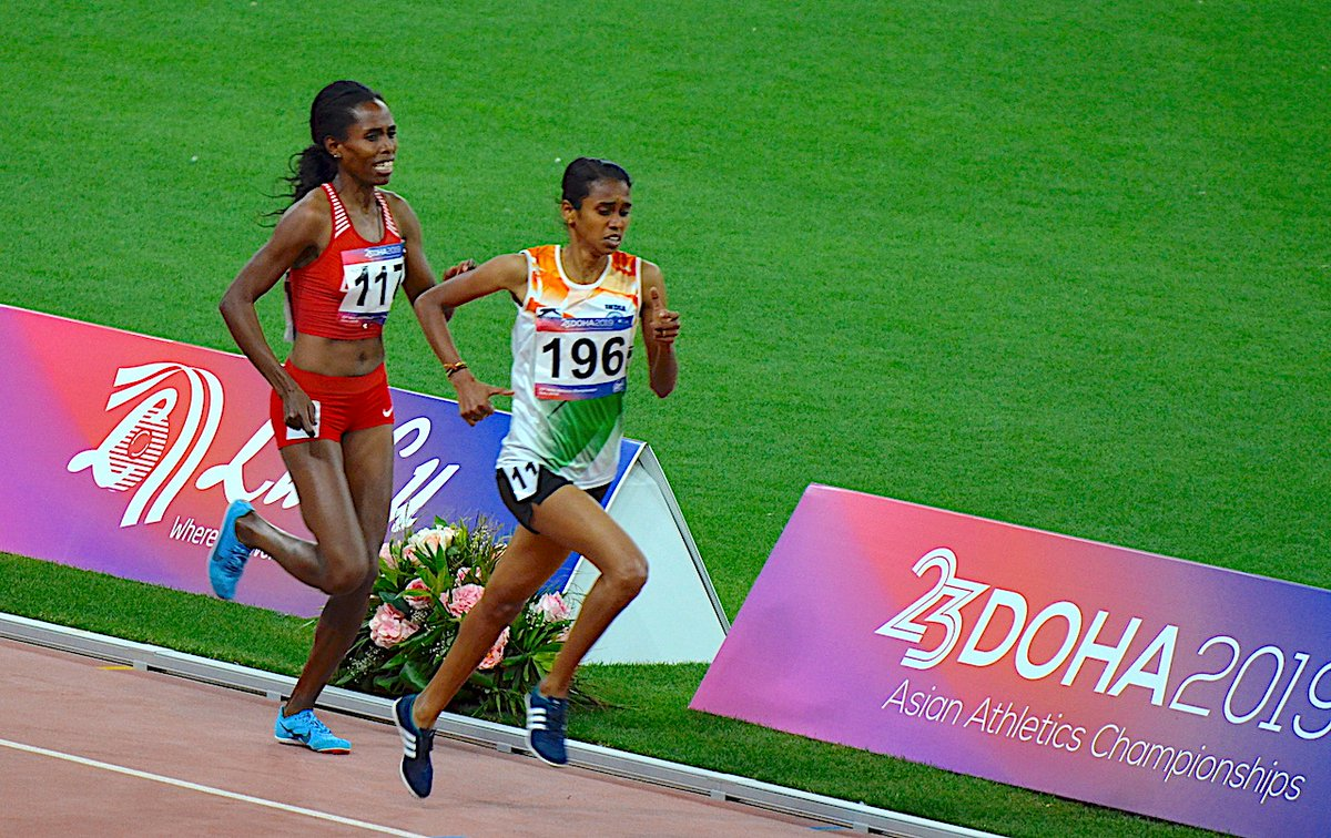 PU Chitra, Asian Athletics Championships