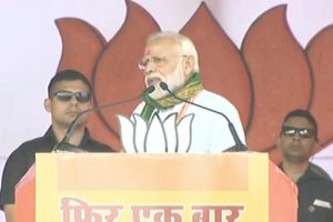Congress adamant on punishing middle class, Left neglected poor: PM Modi in Tripura