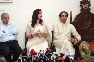 Priyanka Chaturvedi joins Shiv Sena 'without expectations' after resigning from Congress