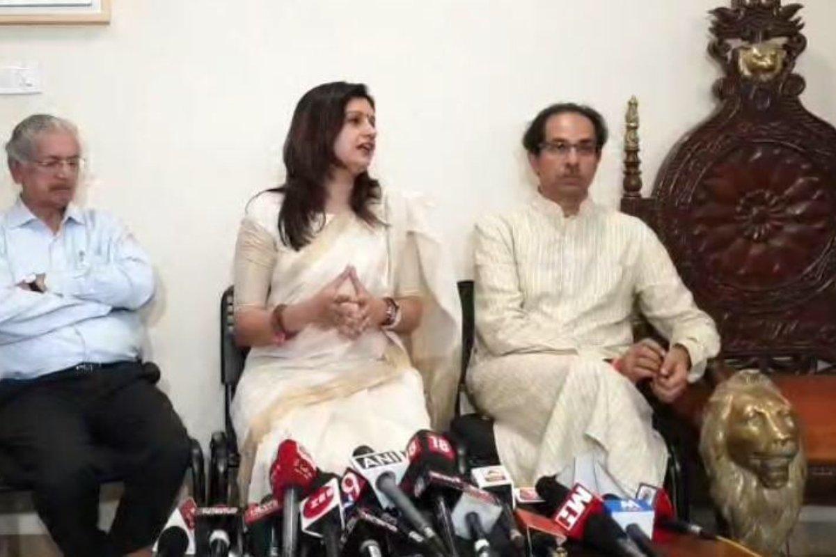 Priyanka Chaturvedi, Shiv Sena, Congress, Uddhav Thackeray