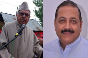 Farooq's contest with greenhorns in Srinagar, no cakewalk for Jitendra Singh in Udhampur