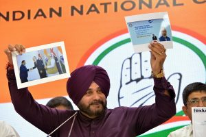 PM Modi behaved like 'business development manager', benefited industrialists, says Sidhu