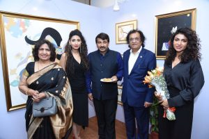 Radhika Gupta presents her Radha at solo art exhibition