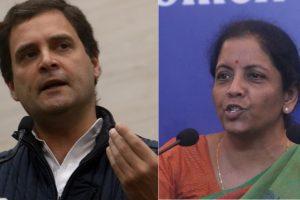 Nirmala Sitharaman accuses Rahul Gandhi of 'contempt of court' over Rafale statement