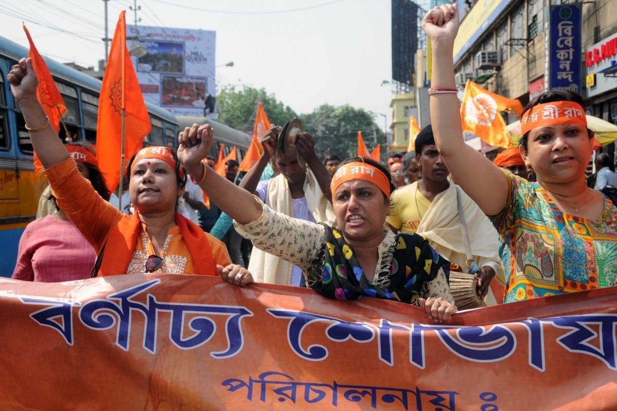 Hindutva groups, Trinamool, Ram Navami, Rallies