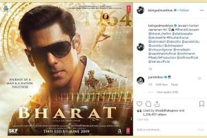 After Bharat poster, Salman Khan gets a new international fan – Paris Hilton
