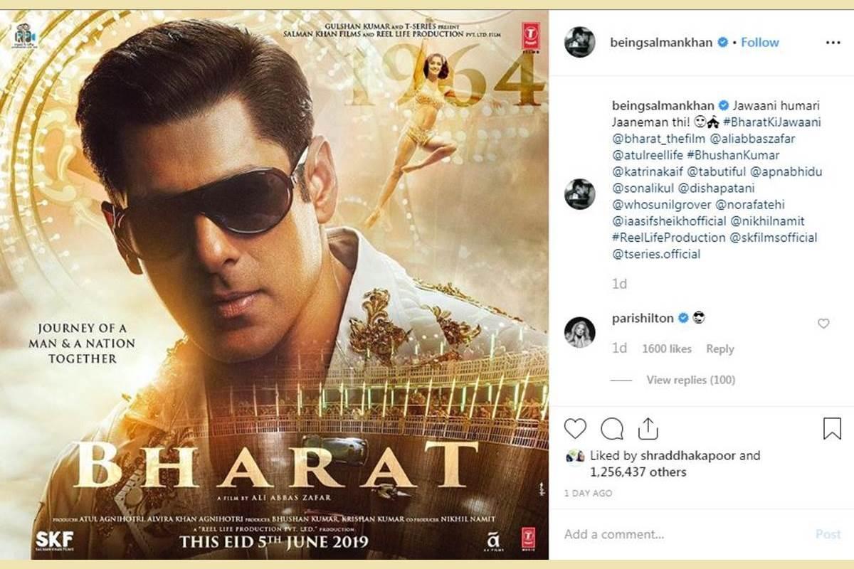 Salman Khan, Bharat, Paris Hilton, Bharat poster, Disha Patani, Katrina Kaif