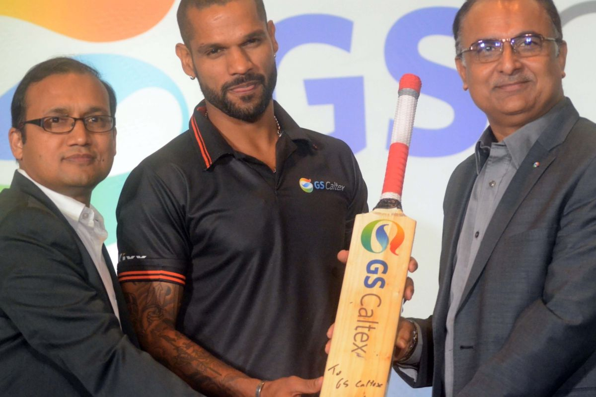 Shikhar Dhawan, GS Caltex India