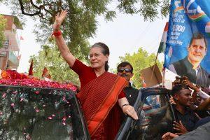 Atal Bihari Vajpayee was invincible but we won: Sonia Gandhi at Rae Bareli