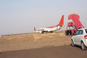 SpiceJet plane overshoots runway at Shirdi airport, operations hit
