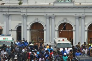 Pakistan condemns explosions in Sri Lanka