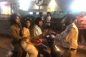 TVF Tripling Cast Joins Hands with Mumbai Police to Address Triple Riding