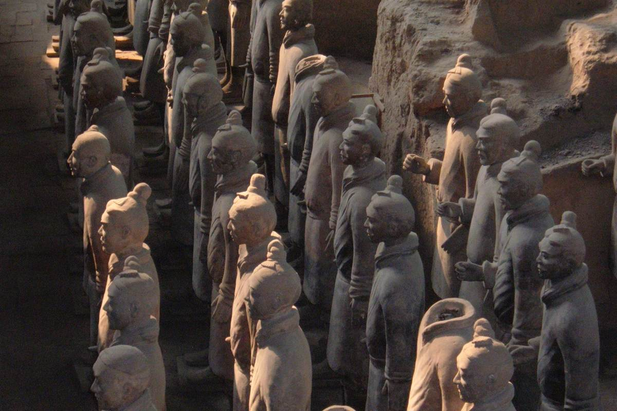 China, Terracotta Army, Bronze Weapons, Qin Shihuang