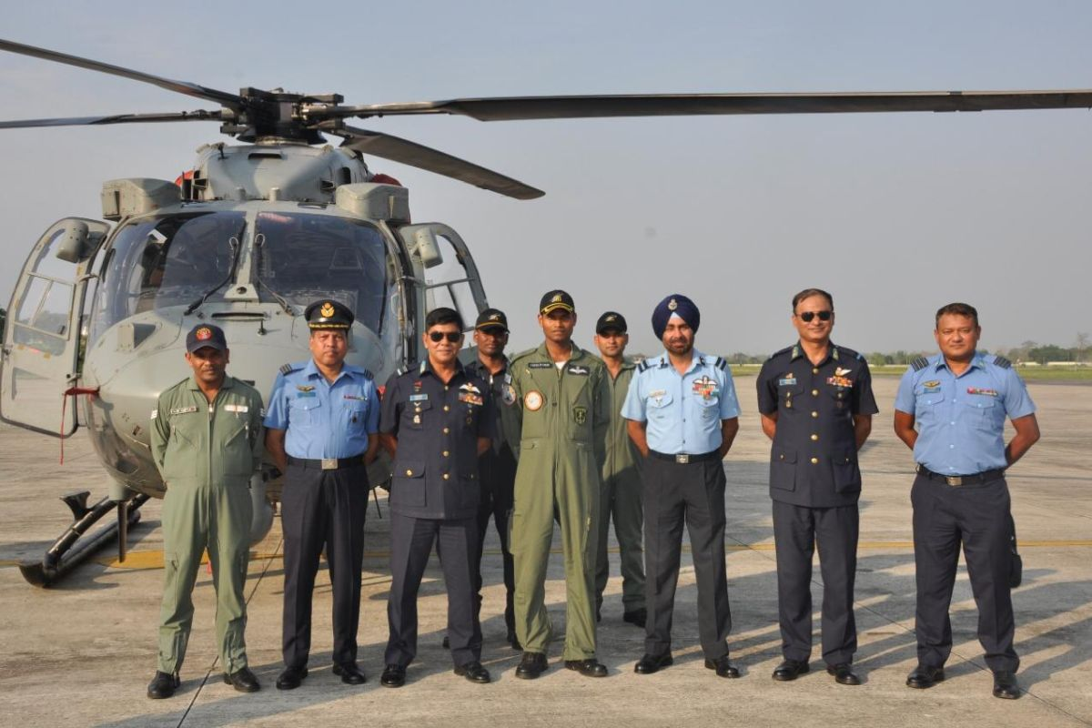 Indian Air Force, Bangladesh Air Force, IAF Station Tezpur, Defence Cooperation