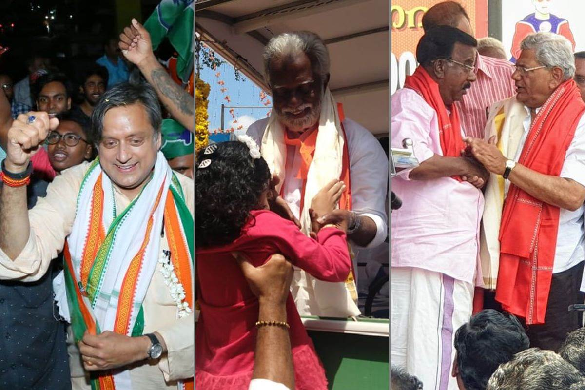 Thiruvananthapuram contest, Thiruvananthapuram Lok Sabha seats, 2019 Lok Sabha elections, Lok Sabha Elections 2019, Shashi Tharoor, O Rajagopal, C Divakaran