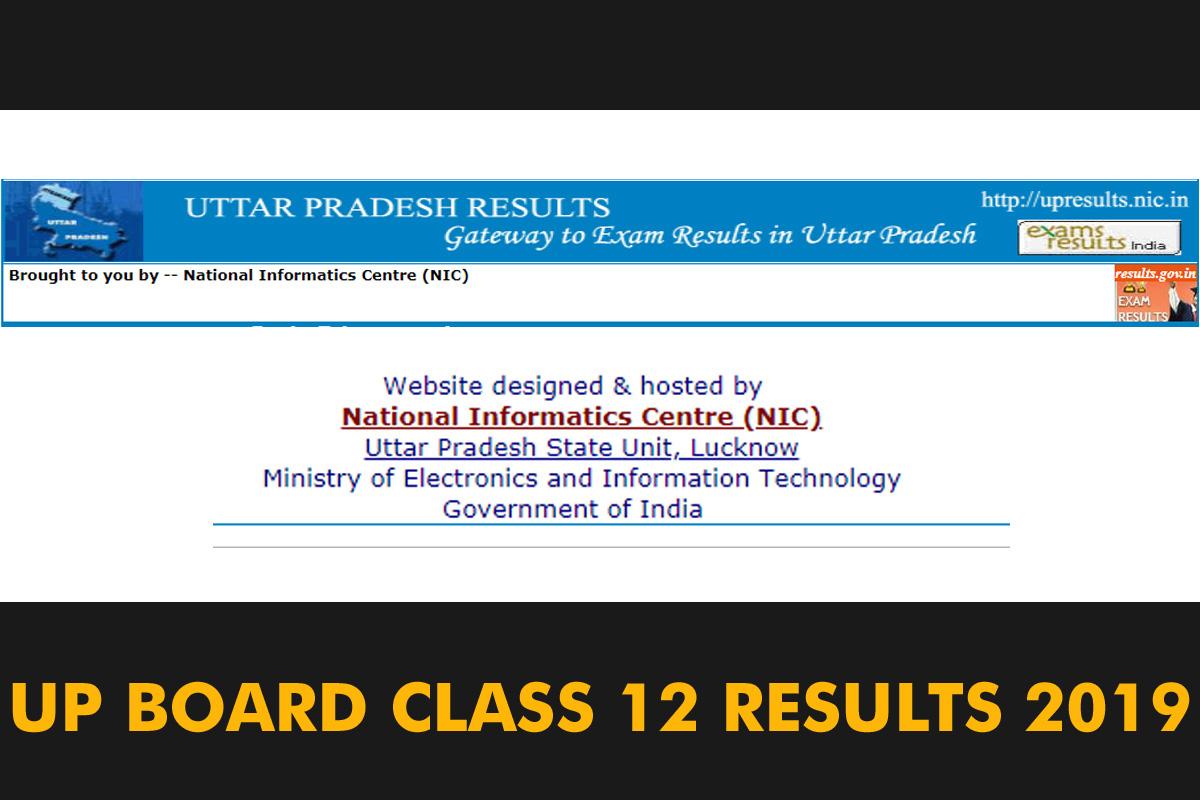 Uttar Pradesh board Class 12 results 2019 declared: Check results at