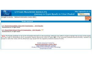 UP Board Class 10, 12 results 2019 direct link released, check out toppers, pass percentage