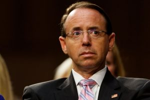 US Deputy AG Rod Rosenstein steps down