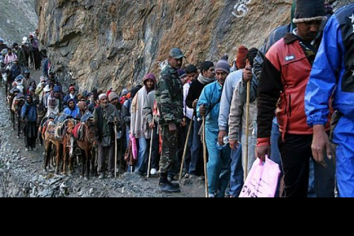 Amarnath yatra, Jammu, Amarnathji pilgrimage, South Kashmir, Shri Amarnathji Shrine Board, Baltal, Chandanwari