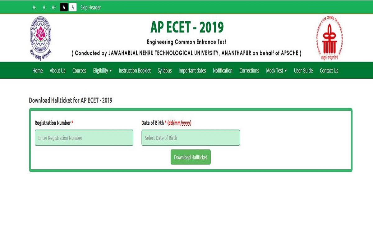 AP ECET 2019, AP ECET 2019 admit cards, sche.ap.gov.in, AP State Council of Higher Education