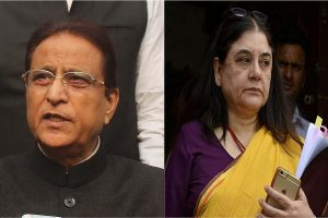 EC bars Azam Khan from campaigning for 3 days, Maneka Gandhi for 2 over controversial remarks