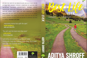 Aditya Shroff launches his first book 'The Best Life Ever'