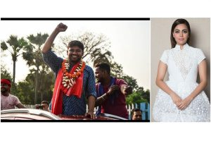 Birthday girl Swara Bhaskar campaigns for Kanhaiya Kumar as he files nominations in Begusarai