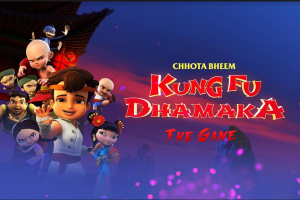 Before release, Chhota Bheem Kung Fu Dhamaka film launched as a mobile game