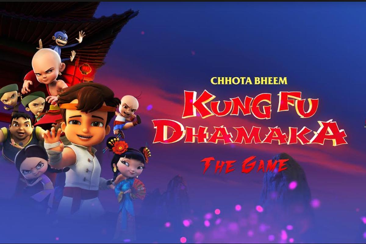 Chhota Bheem, Chhota Bheem Kung Fu Dhamaka, game launch, Rajiv Chilaka, Binayak Das, Green Gold Animation, Yash Raj Films