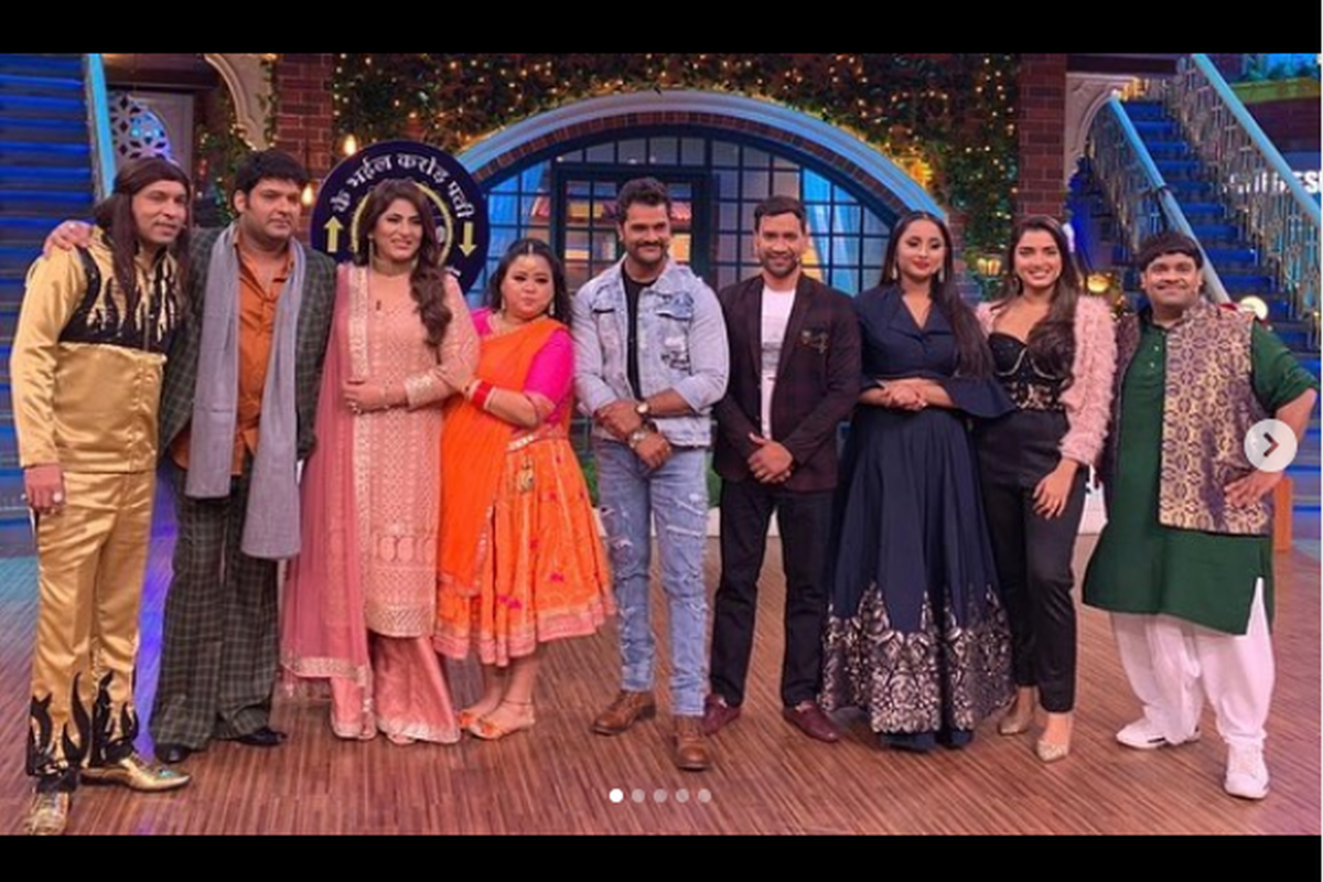 Catch Nirahua and other Bhojpuri superstars in The Kapil Sharma Show this weekend