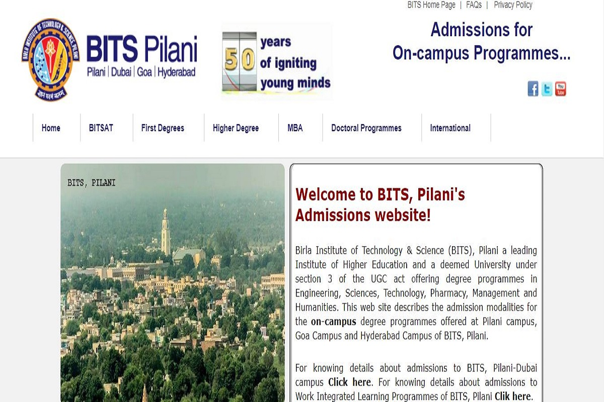 BITSAT 2019, Birla Institute of Technology and Science, BITSAT 2019 admit cards, bitsadmission.com