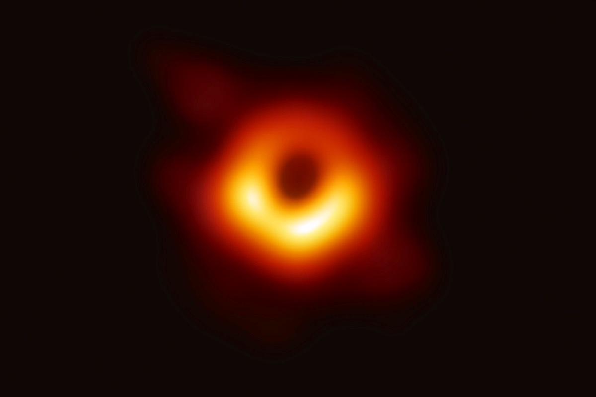Black hole image captured for very first time in history