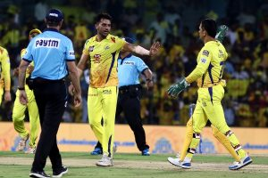 Discuss my game with Dhoni while playing TT: Chahar