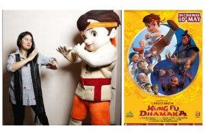 Sunidhi Chauhan's new song Circus Jam Rap for Chhota Bheem Kung Fu Dhamaka is out