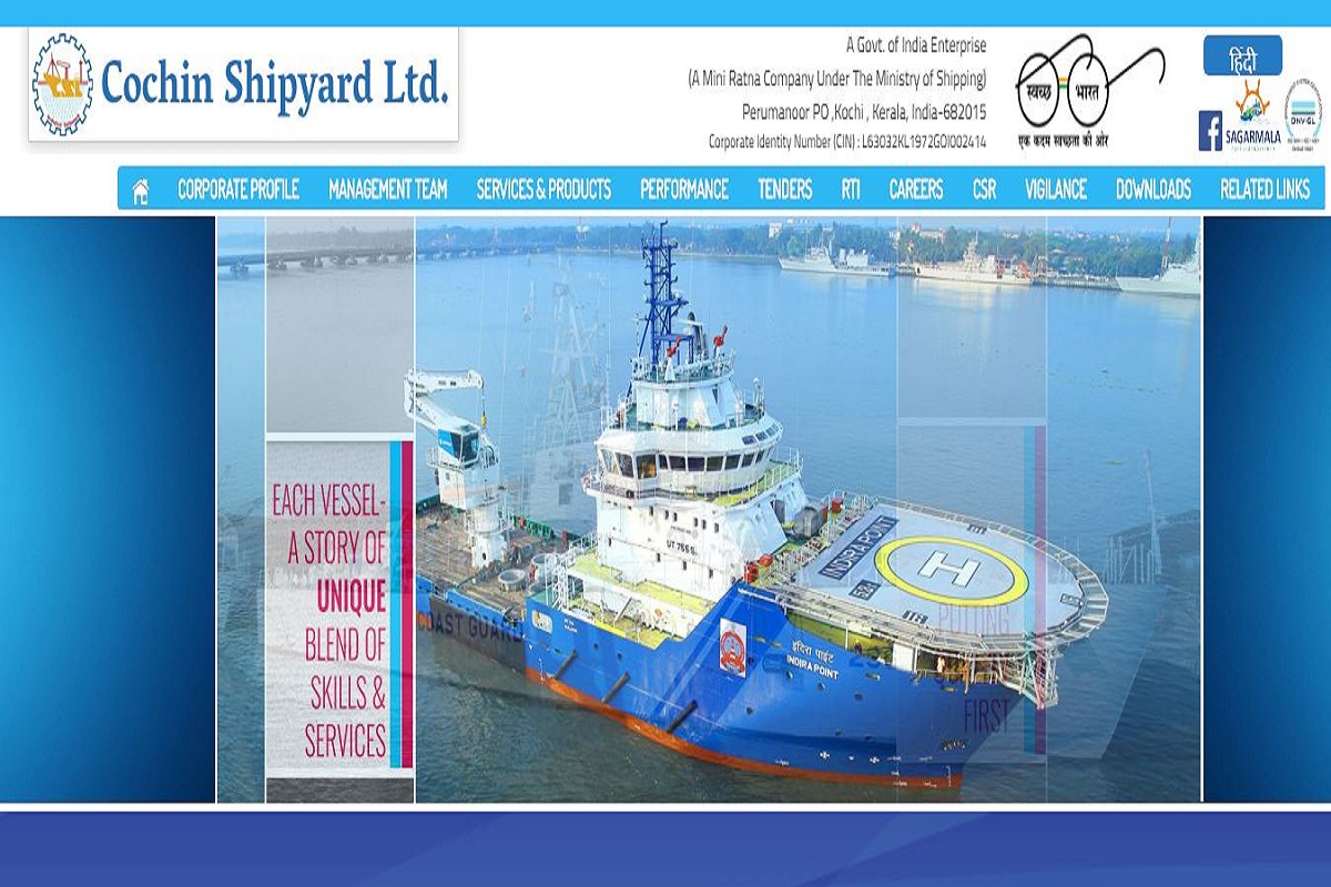 CSL recruitment, Cochin Shipyard Limited, Senior Project Officer posts, cochinshipyard.com, Project Officer posts,