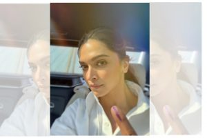 #ProudtobeanIndian: Deepika Padukone after polling day
