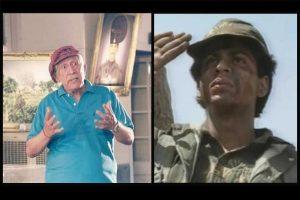 Shah Rukh Khan pays tribute to Col. Raj Kapoor, the ketchup man