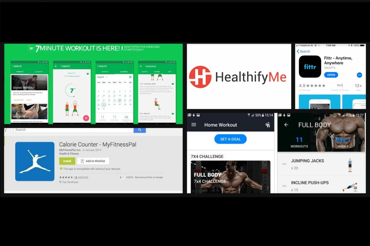 Are you missing your fitness routine? Try these apps to closely monitor your diet, health & fitness