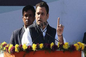 BJP manifesto 'voice of an isolated man, short-sighted, arrogant': Rahul Gandhi