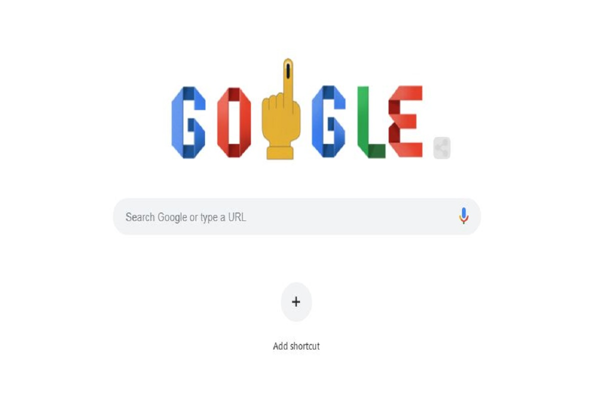 How to vote: Google doodle does its bit for 2019 Lok Sabha elections