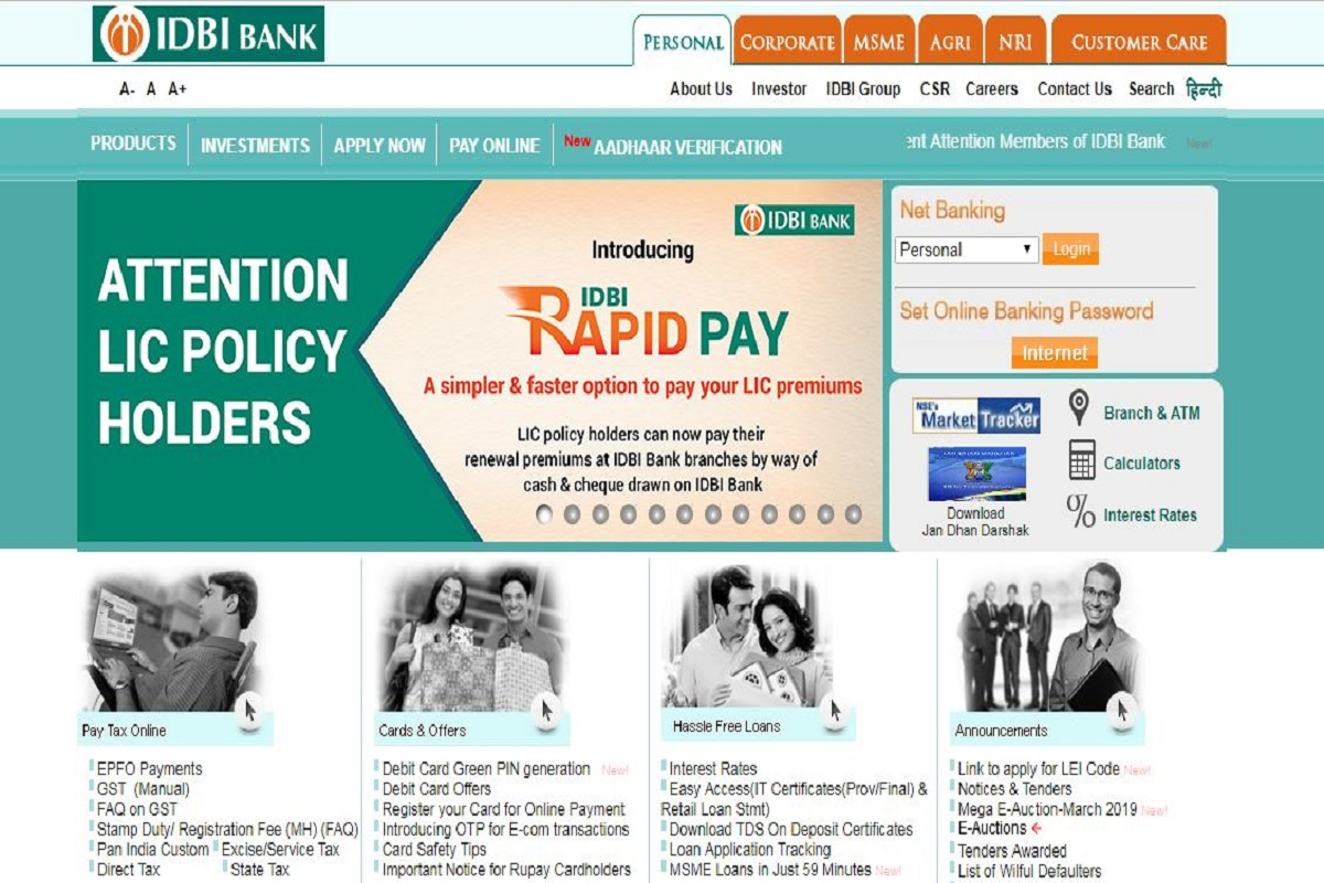 IDBI Bank recruitment: Applications invited for 120 SO posts at idbi.com, check important information here