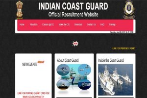 Indian Coast Guard releases admit cards for Navik posts at joinindiancoastguard.gov.in