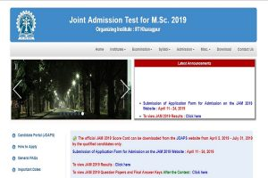 IIT Kharagpur declares JAM 2019 score cards at jam.iitkgp.ac.in | Check now