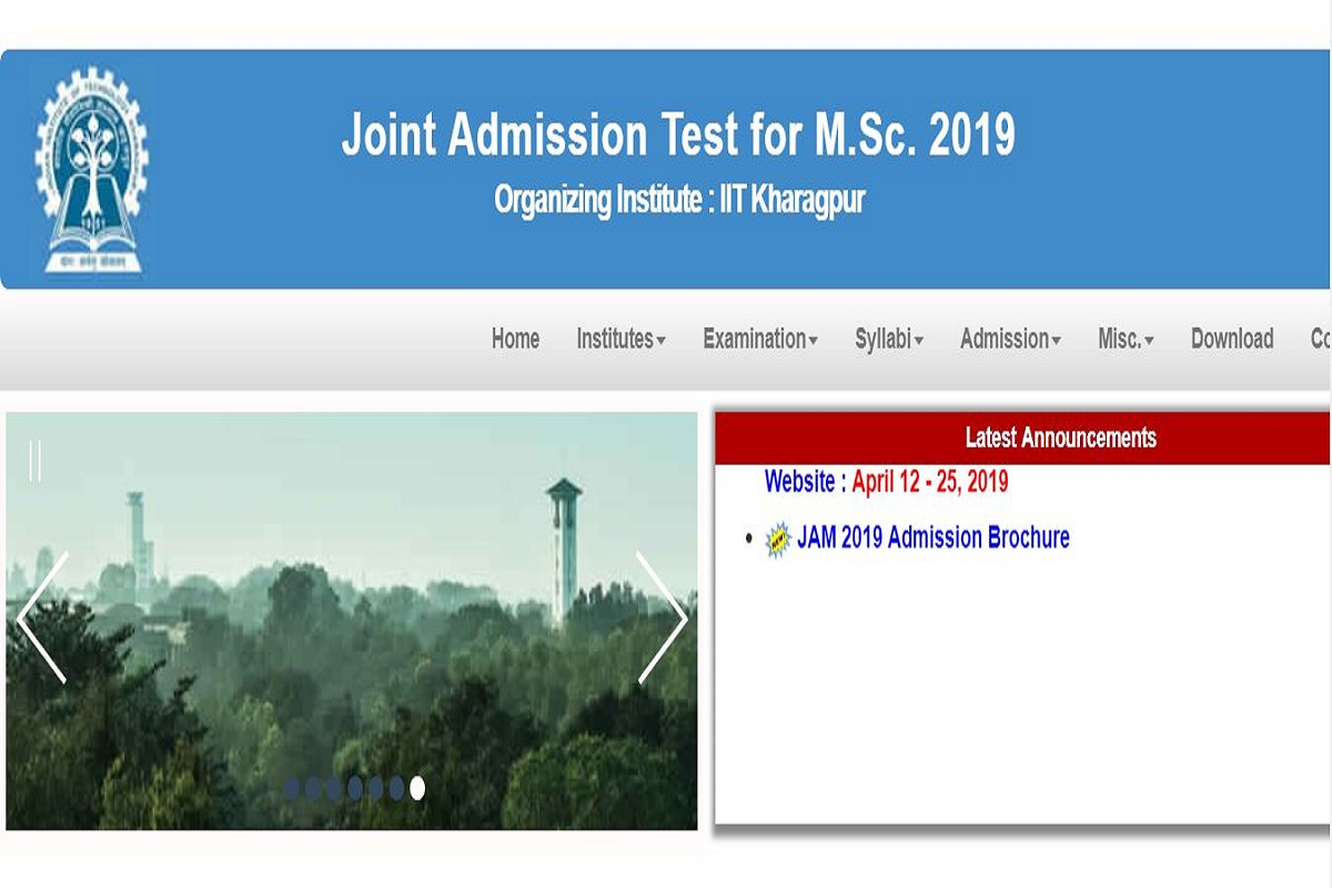 IIT JAM 2019: Online applications for PG admissions begins, apply till April 25 at jam.iitkgp.ac.in