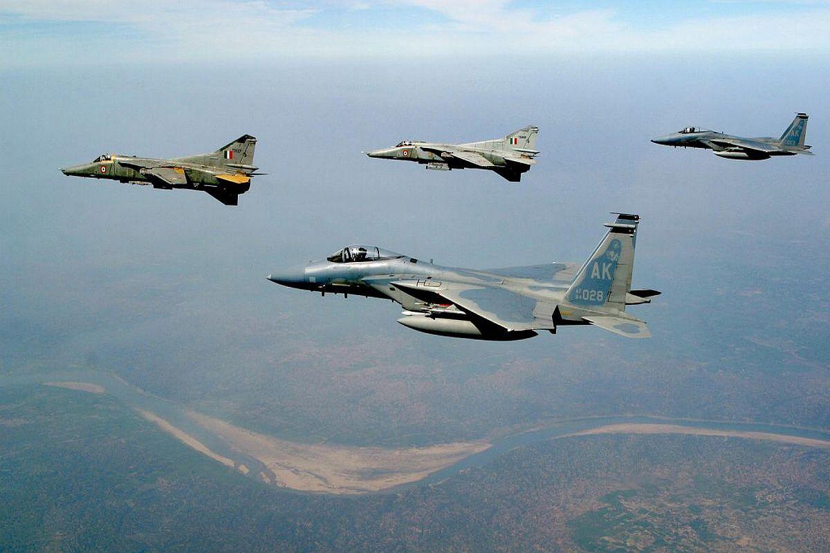 Warriors in the sky, India, Uttarlai, Rajasthan, Rafale