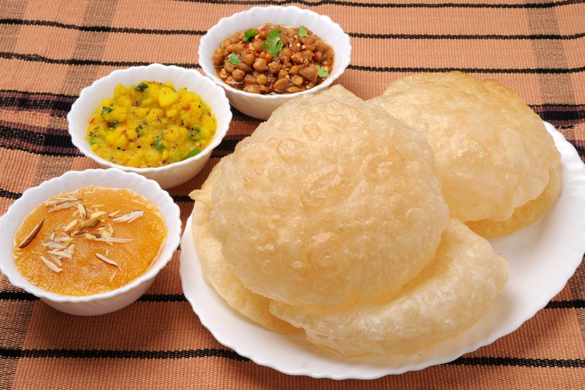 Kanjak prasad recipe. Durga Ashtami, Navratri, Navami, Ashtami, Navratri food