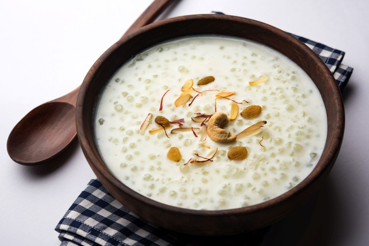 Navratri, Navratri food, recipes, Sabudana Kheer, saatvik food, Navratra