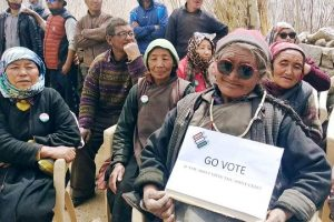 2 polling stations for 7 voters each set up in Ladakh